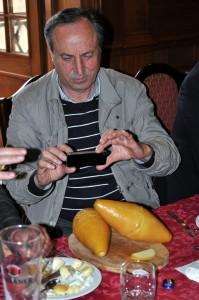 Oscypek wart zdjęcia włoskiego członka jury ... Roberto Rubino