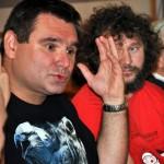 Grzegorz Kwapniewski i Zbigniew Kmieć