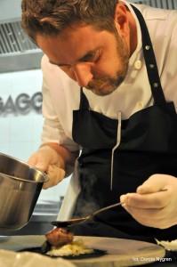 szef kuchni Wojciech Modest Amaro